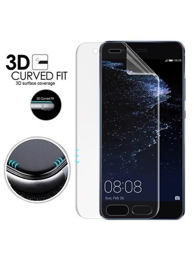 Microsonic Microsonic Huawei P10 Plus Ön ve Arka Kavisler Dahil Tam Kaplayıcı Film Ekran Koruyucu Renksiz
